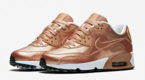 Nike Air Max 90 GS – Metallic Red Bronze