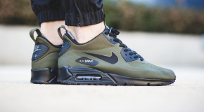 Nike Air Max 90 Mid Sneakerboot – Dark Loden/Black-Dark Grey