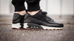 Nike Air Max 90 Premium – Black/Gum