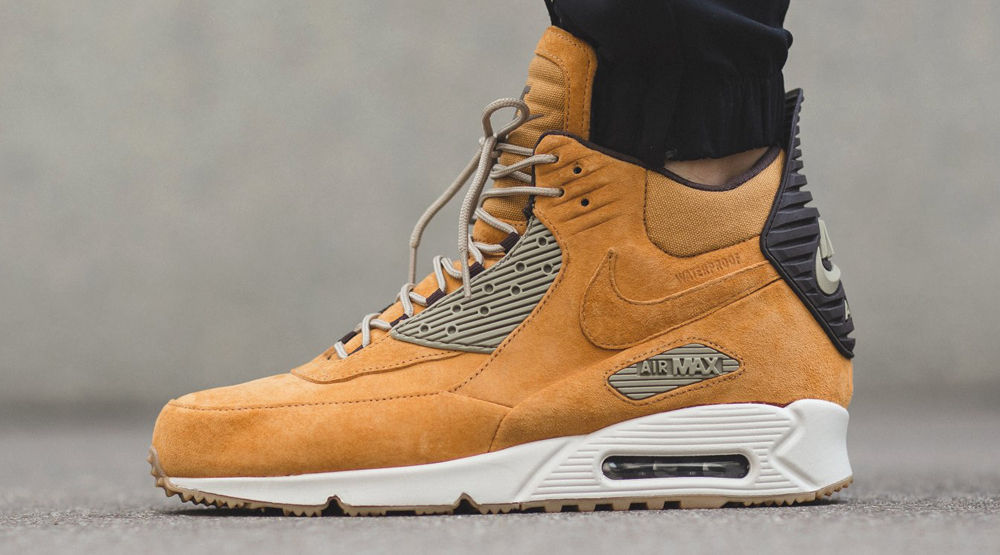 buty nike air max 90 winter sneakerboot na nodze