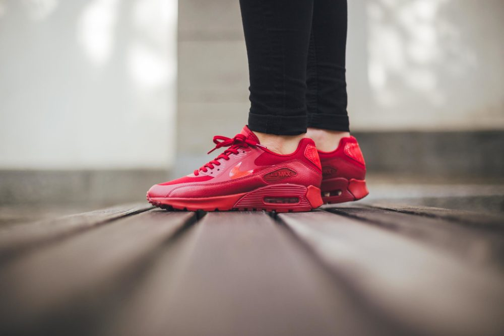 brand new 10211 394a9 ... norway nike air max light breathe pure platinum university red buty nike  air max 90 breathe