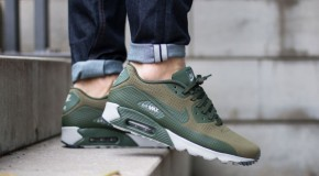 Nike Air Max 90 Ultra Moire – Medium Olive/Carbon Green-Granite
