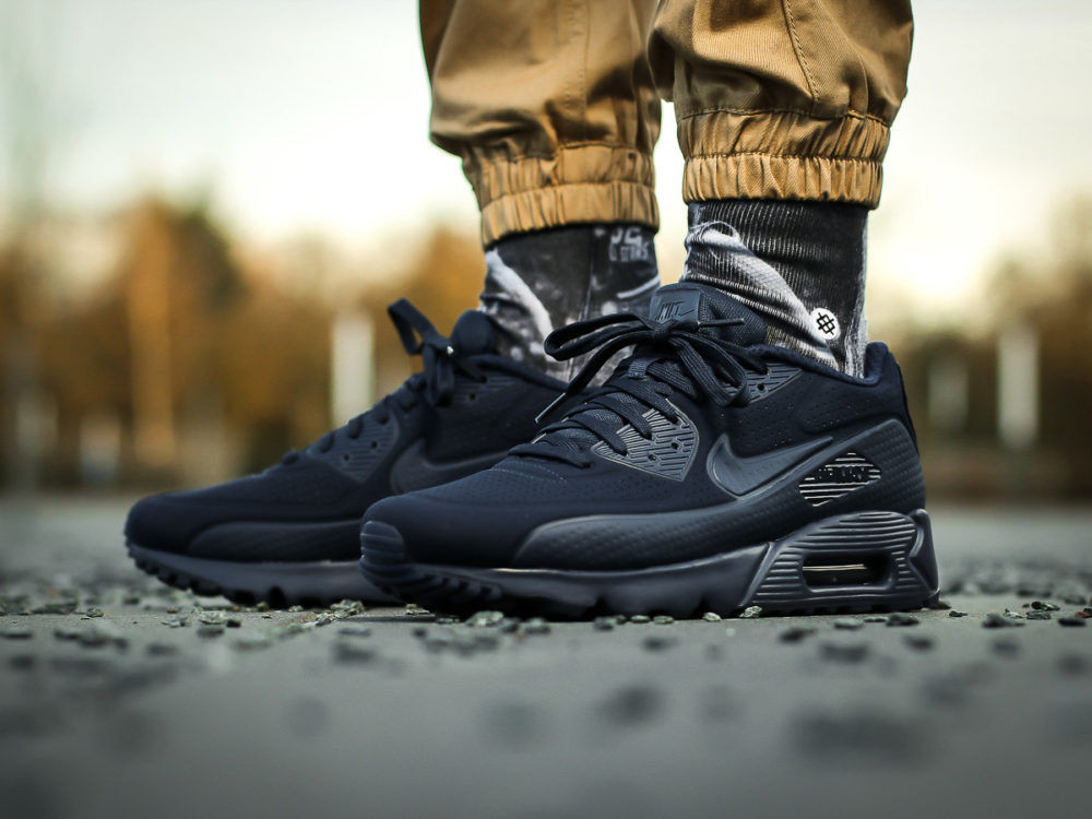 best loved c27f9 be806 Nike Air Max 90 Ultra Moire – Midnight Navy