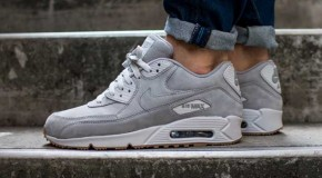 Nike Air Max 90 Essential PRM – Medium Grey / White