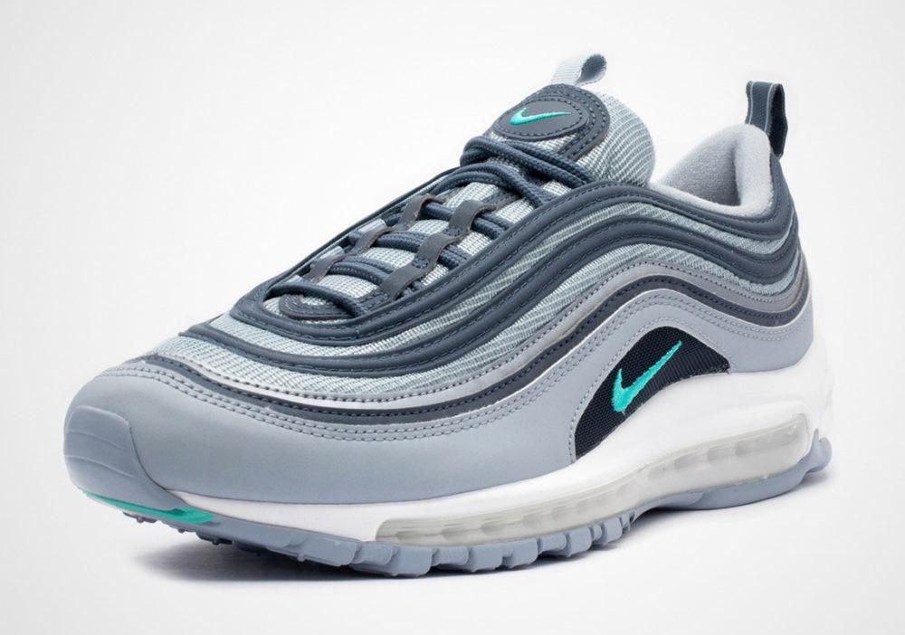 Nike Air Max 97 Premium   Blue   Sneakers   AV7025 400
