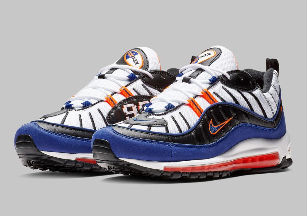 Nike Air Max 98 White Royal Blue