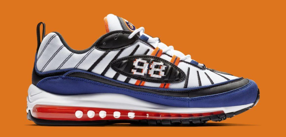 Nike Air Max 98 CD1536 100 White Deep Royal Blue Total