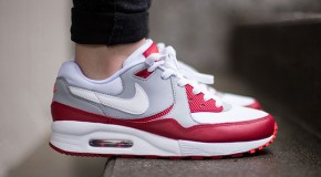 Nike Air Max Light GS – White / Gym Red – Wolf Grey
