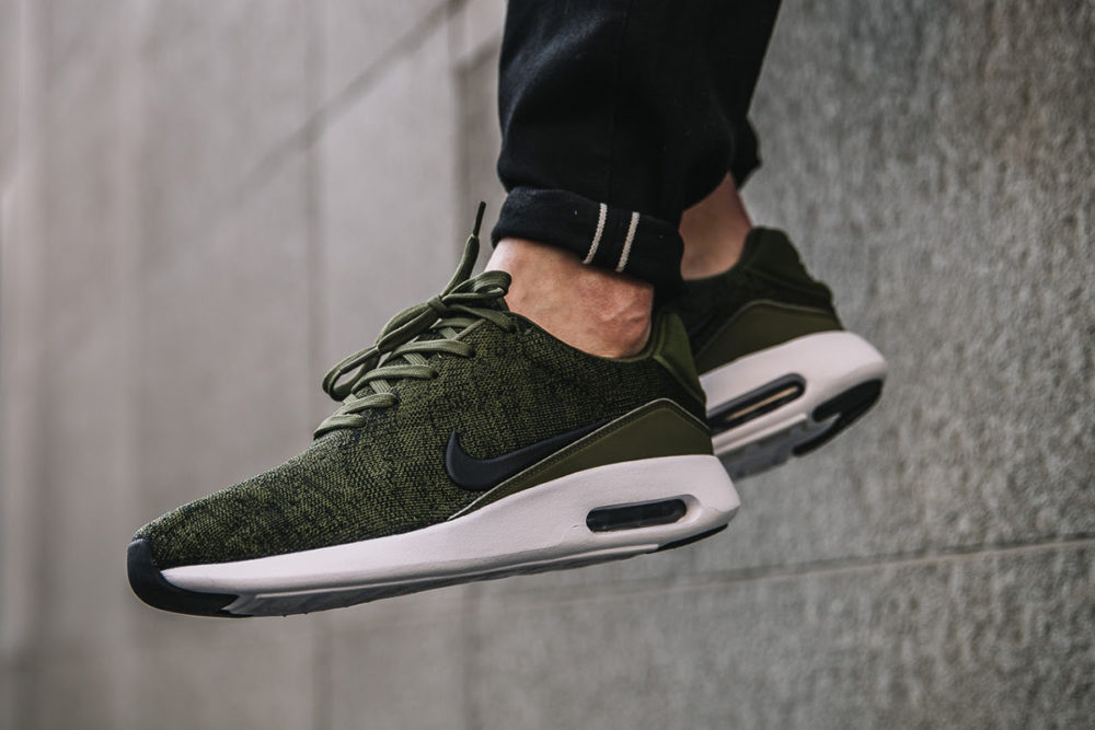 low priced 72dd1 d34aa Nike Air Max Modern Flyknit – Rough GreenBlack . ...