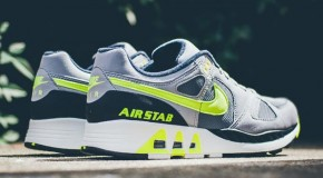Nike Air Stab – Cool Grey / Volt – Black – White