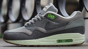 Nike WMNS Air Max 1 – Mine Grey/Mercury Grey-Flash Lime-Sail