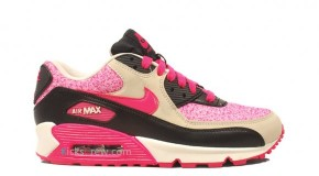 Nike WMNS Air Max 90 sail/pink force-birch-black