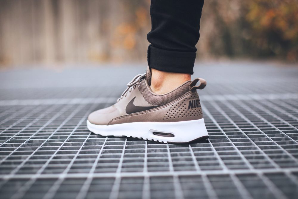Rose Gold Nike Air Max Thea Quandary