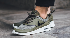 Nike WMNS Air Max Thea – Medium Olive/Black-Summit White