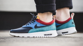Nike WMNS Air Max Thea Premium – Star Blue/Black-Dark Cayenne
