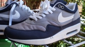 Nike Air Max 1 – Grey / Dark Blue 2009