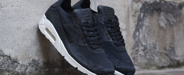 NikeLab Air Max 90 Flyknit – Black