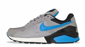 Nike Air Pegasus `92 Matte Silver/Blue Glow/Summit White