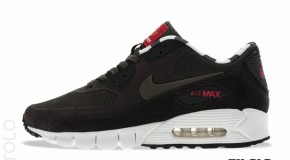 Nike Air Max 90 Current PARIS Quickstrike Deep Smoke-DSTNC Red-Black  Hometurf Series