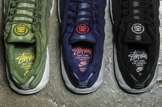 Stussy x Nike Air Max 95 Collection